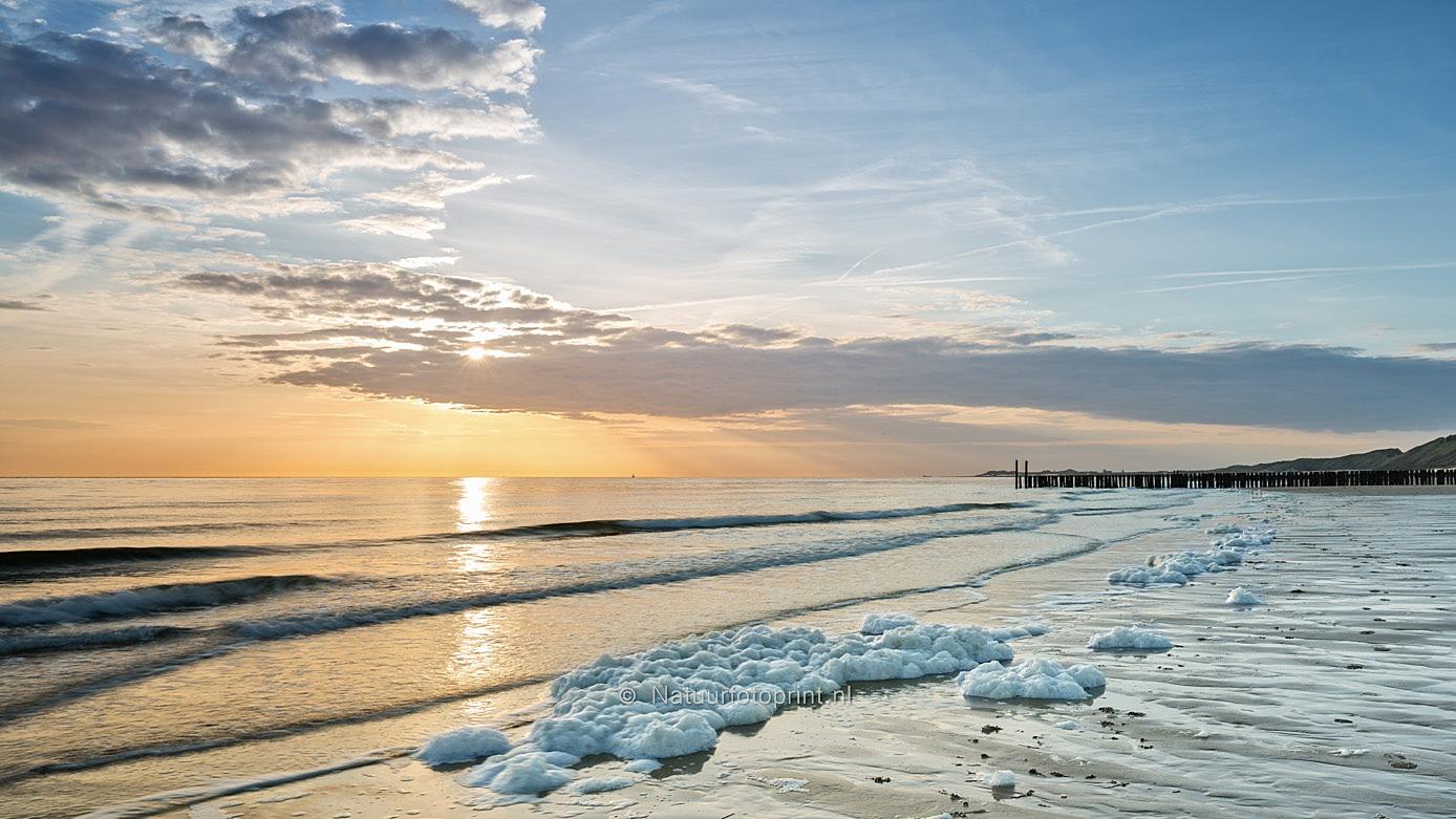 Zonsondergang in Zeeland – Sunset in Zeeland